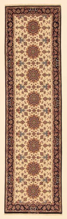 Perserteppich Isfahan a.Seide hell (85x318cm)