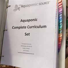 Aquaponics Complete Curriculum Set Aquaponics Greenhouse, Aquaponics Plants, Aquaponics System, Hydroponic Gardening, Organic Gardening, Indoor Aquaponics, Container Gardening, Aquaponics Supplies, Sustainable Gardening
