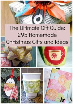 20 diy gifts you can make in less than 1 hour diy gifts for Homemade christmas gifts for adults