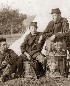 American Civil War drummer boys 2nd Rhode Island Infantry. It was made between 1861 and 1865.