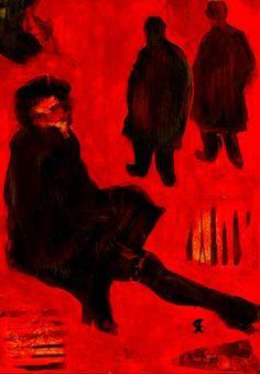 "Saatchi Art Artist Cris Acqua; Collage, ""11-Homenaje a LAUTREC x Cris Acqua"" #art http://www.saatchiart.com/art-collection/Collage/LAUTREC-Homenaje-x-CRIS-ACQUA/45144/73006/view"