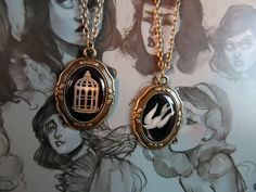 Bioshock Infinite Bird/Cage Necklace. I bought one of these; they are so freaking pretty.