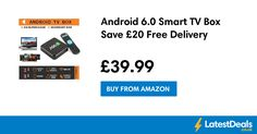 Android 6.0 Smart TV Box Save £20 Free Delivery, £39.99 at Amazon