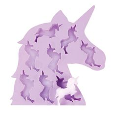 Find items like Unicorn Ice Cube Tray at What on Earth. Make any drink or punch bowl magical with unicorn-shaped ice cubes. Perfect for parties and everyday fun. Soft silicone ice cube tray lets you pop out cubes with ease. Unicorn Food, Party Unicorn, Real Unicorn, Purple Unicorn, Unicorn Gifts, Unicorn Birthday Parties, Rainbow Unicorn, Unicorn Decor, Ice Cube Trays