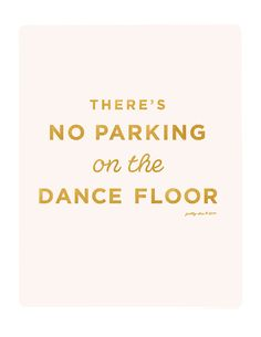 No Parking Print - Inspirational - Motivational - Shine - Glitter