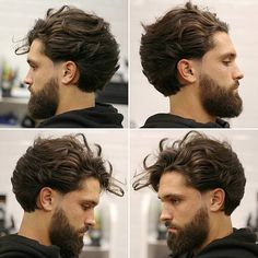 Longer hair and looser hairstyles are growing trends for 2017 and there are plenty of new long hairstyles for men that we haven't seen before. Last year was all about growing it out from short to a medium length of hair.