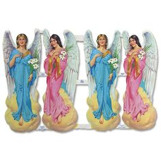 Large Easter Angel Scraps ~ England My Childhood Memories, Childhood Toys, Vintage Paper, Vintage Dolls, Vintage Birthday Cards, Angel Crafts, Kiwiana, Christmas Illustration, Cartoon Pics