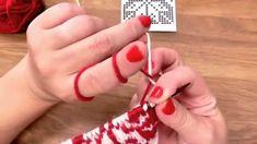 Škola pletení - vyplétání norský vzor, Norwegian knitting tutorial Mittens, Knit Crochet, Stitch, Learning, Knitting Tutorials, Youtube, Fingerless Mitts, Full Stop, Studying