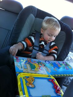 how to survive a car trip with a toddler. eight things your next trip can't do without.