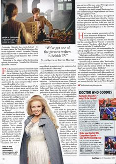 Doctor Who Radio Times 11-12-10 b by combomphotos, via Flickr