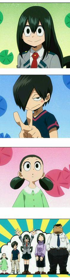 Boku no Hero Academia || Tsuyu Asui, #mha