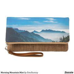 Morning Mountain Mist Clutch Bag
