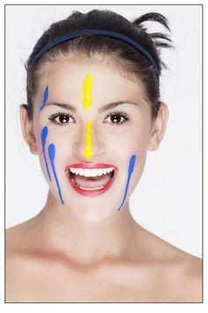 Body painting Body painting #Art #Bodypainting inspirado en #Suramerica #Photography #Paint #Photoshoot ©MaticesLatinoamericanos El Taller Latino Estudio de Fotografía