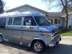 1994 Chevrolet G20 Van Conversion Emerald Edition for sale in Cuyahoga Falls, Ohio, #cafepressfathersday