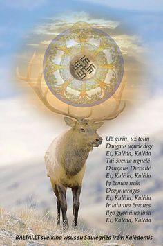 Lithuanian mythological Nine horn deer