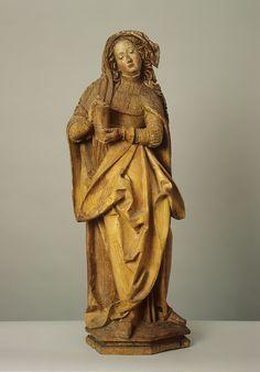 Les saints et les saintes au Moyen Âge | Statue de sainte Marie-Madeleine, vers 1515 Atelier de Hans Geiler © Musée d'art et d'histoire, Fribourg