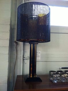 Super glam lamp. Available now at Mid Mod Collective. Email midmodcollective@gmail.com for more info. ** SOLD!