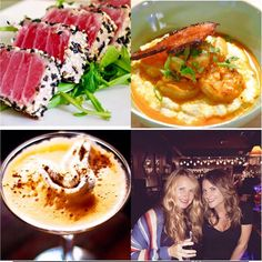 """Join us now for """"Tapas Tuesday"""" rocking tons of Tapas and Fresh and local Dinner Specialswith all Tapas tonight is 1/2 priced with the purchase of any new 2016 Wine Martini Cocktail or Craft New Drafts with a great line up on Whitney shaking local love in each glass behind the bar will welcome back from R & R is Heather @heather_shhh_ rocking the inside and purist with Jasmine Amanda Katie and Rachel @cellar6 till late we go so  come Relax - Sip - Taste - Order and Repeat to al little of it…"""