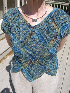 Ravelry: Diamond Patch Sweater pattern by Jill Vosburg