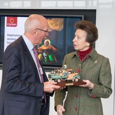 The Princess Royal attends a showcase event for Transaid, an international development organisation that identifies, champions, and implements local transport solutions in Africa and across the developing world.