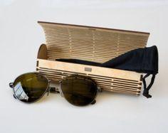 Laser Cut Wood Glasses Case / Living Hinge Design by LaseredDesign
