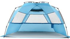 Pacific Breeze Easy Up Beach Tent Deluxe XL for All Outdoor Activities Beach Canopy Tent, Pop Up Beach Tent, Beach Cabana, Beach Umbrella, Canopies, Baby Beach, Beach Pool, Screen Tent, Beach Shade