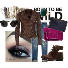 Super Casual., created by meli-k on Polyvore