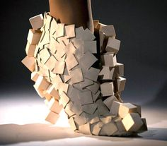 Boxy Shoes -     Leather and sycamore wood shoes designed by Andreia Chaves