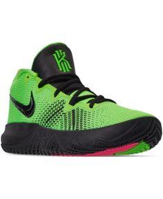a9db11d8045ed Nike Men s Kyrie Flytrap Basketball Sneakers from Finish Line - Green 11  Línea De Meta