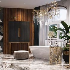 Personalize your home decoration with pretty digital printables. Best Bathroom Designs, Bathroom Interior Design, Decor Interior Design, Interior Decorating, Bathroom Ideas, Studio 54, Luxury Homes Dream Houses, Elegant Homes, Luxurious Bedrooms