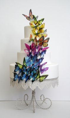Hey, I found this really awesome Etsy listing at http://www.etsy.com/listing/10338849/50-x-stick-on-butterflies-wedding-cake