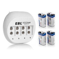 EBL-4x-600mAh-9V-Li-ion-Rechargeable-Batteries-9-VOLT-Battery-Charger
