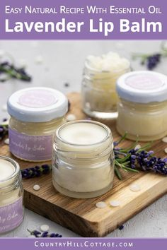 Diy Deodorant, Deodorant Recipes, Lip Balm Recipes, Natural Deodorant, Homemade Lip Balm, Diy Lip Balm, Homemade Skin Care, Homemade Beauty Products, Diy Beauty Products Videos
