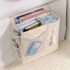 Bedside Storage Pocket