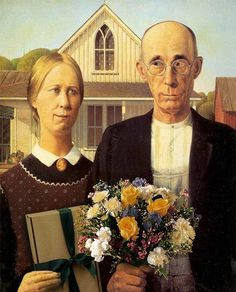 Valentines Day American Gothic Spoof