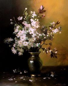 Wild flowers, by artist Serguei Toutounov.