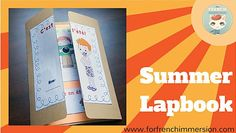 French Summer Lapbook