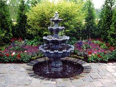Garden Features | Charles Hodges Ltd Gardens | Arbors | Fountains ...