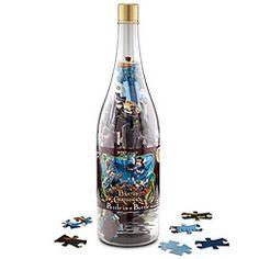 Pirates Puzzle in a bottle ( fun idea)