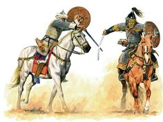 Pictures of Steppe Warriors | Steppe History Forum | Mamluk vs Mongol
