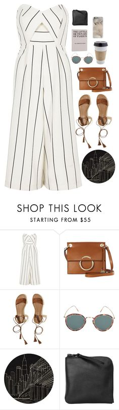 """""""Untitled #2892"""" by wtf-towear ❤ liked on Polyvore featuring River Island, Karen Millen, Hollister Co., Eyevan 7285, Momeni, Xenab Lone, OUTRAGE and Casetify"""
