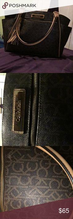c45d3cd00 Original Calvin Klein handbag Purse - Brown New Without Tags Original  Calvin Klein Purse. Never