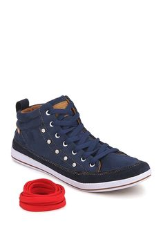 Incult Navy Blue Sneakers