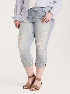 525e5add8ff Plus Size Boyfriend Jeans  Distressed   More
