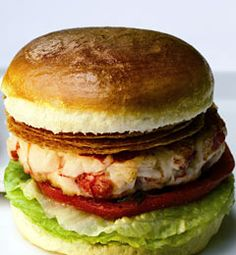 Recipes from The Nest - Lobster Burger