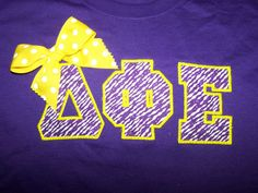 love the bow. need these letters. #dphie