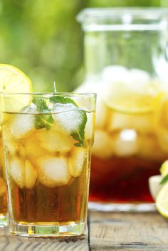 Three Refreshing and Easy Iced Tea and Tea Cocktail Recipes