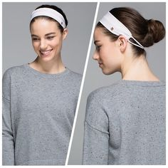 Lululemon Party Om Headband Neutral Blush New with tags. lululemon athletica Accessories Hair Accessories