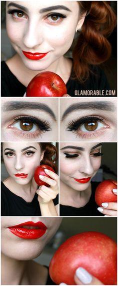 Snow White Makeup Tutorial | via @glamorable