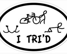 Love that all three parts of a triathlon are incorporated